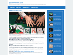 Consulter la fiche de 770 Poker