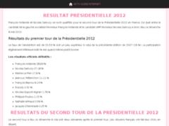 Résultat Présidentielles 2012