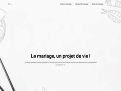 Consulter la fiche de Les professionnels du mariage sur projet-de-mariage.com