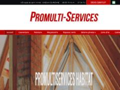 Création du site Internet de Promultiservices habitat (Entreprise de Entreprise générale à LA COURONNE  )
