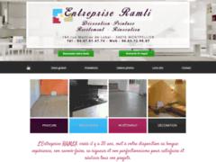 Création du site Internet de Entreprise Ramli (Entreprise de Peintre à MONTPELLIER )