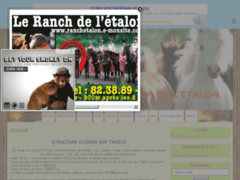 Tahiti Cheval- Ranch de l'étalon blanc
