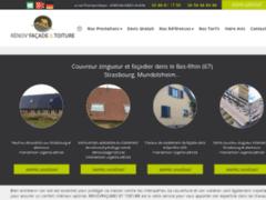 Création du site Internet de Renov ' Façades (Entreprise de Peintre à MUNDOLSHEIM )