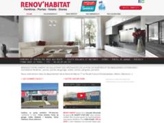 Création du site Internet de Renov'Habitat (Entreprise de Menuisier à VAUX LE PENIL )