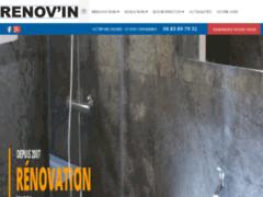 Création du site Internet de RENOV'IN (Entreprise de Isolation à CHANEINS )