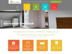 Création du site Internet de Entreprise vigneron 59 (Entreprise de Platrier à MONS EN BAROEUL )