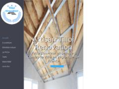 Création du site Internet de Tilloi Renovation (Entreprise de Couvreur à COMBS-LA-VILLE )