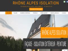 Création du site Internet de Rhône Alpes Isolation (Entreprise de Façade à ANNECY )