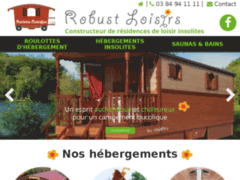 Mobil home et roulottee
