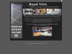Création du site Internet de Royal Vitre (Entreprise de Entreprise de nettoyage à LUNEL )
