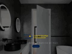 Création du site Internet de S.C.C.E (Sanitaire Chauffage Côte d'Emeraude) (Entreprise de Cuisiniste à LA RICHARDAIS )