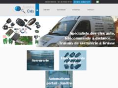Création du site Internet de Santa Clés (Entreprise de Entreprise de clôture à GRASSE )