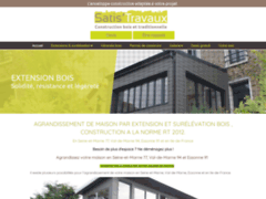 Création du site Internet de EQO CONSTRUCTIONS (Entreprise de Constructeur de maison à RIS ORANGIS )