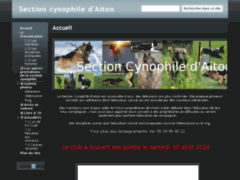 Section cynophile d'aiton
