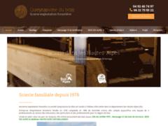 Création du site Internet de Société Queyrassine du bois (Entreprise de Constructeur de maison à CHATEAU-VILLE-VIEILLE )