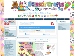 Paper and Scissor Crafts for Children