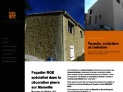 Création du site Internet de Sculpture Facade (Entreprise de Façadier à MARSEILLE )