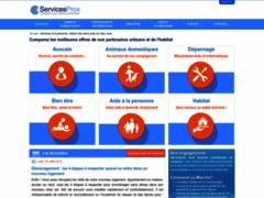 Consulter la fiche de Servicesprox, Devis Pour Les Services A La Personne