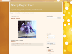 Sheep dog's fleece