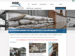 Création du site Internet de ISDE (Entreprise de Plombier à CHANEINS )