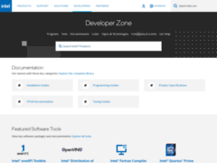 Intel® Developer Zone