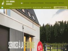 Création du site Internet de Stef Jardins Services (Entreprise de Paysagiste à VERNEUIL EN HALATTE )