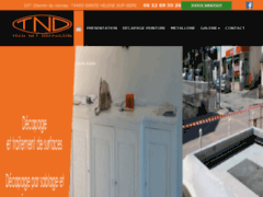 Création du site Internet de Tech-Net-Diffusion (Entreprise de Entreprise de nettoyage à SAINTE HELENE SUR ISERE )