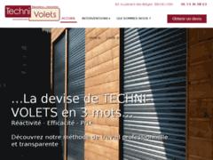Création du site Internet de TECHNI-VOLETS (Entreprise de Menuisier à LYON )