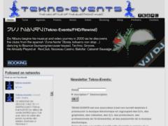 Consulter la fiche de tekno-events