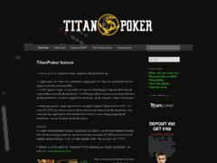 Détails : Titan Poker: code bonus : MB500 = 500$ Gratuit + Tournois à 63000$
