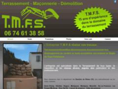 Création du site Internet de Salis Fabien (Entreprise de Terrassier à 13130 )