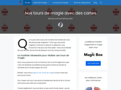 Tour de magie cartes - apprentissage de la magie et création de cartes à jouer