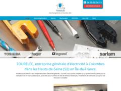 Création du site Internet de Tourelec (Entreprise de Electricien à COLOMBES )