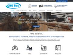 Création du site Internet de CNG BAT SARL (Entreprise de Entreprise générale à NANTERRE )