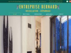 Création du site Internet de Entreprise Bernard (Entreprise de Chauffagiste à CHAMPAGNE SUR OISE )