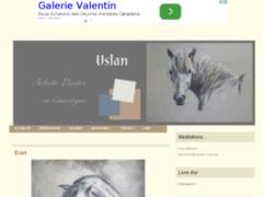 Uslan : artiste peintre du cheval en camargue