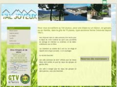 Création du site Internet de Gîte d'Etape Val Joyeux (Entreprise de Gîtes et chambres d'hôtes à MEAUDRE )
