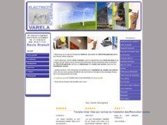Création du site Internet de VARELA (Entreprise de Electricien à BOIS  COLOMBES )
