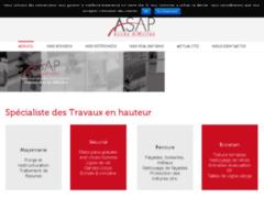 Site Détails : Entreprise de travaux en hauteur, cordiste - ASAP