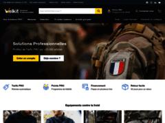 Welkit | Solutions PRO - Militaires & Fonctionnaires