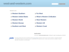 West And Western