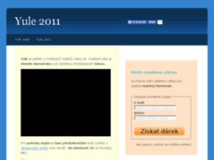 náhled stránek Yule 2011