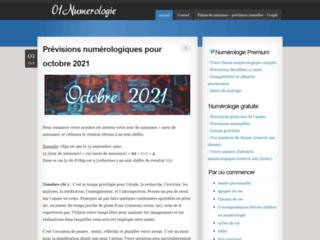01 numerologie