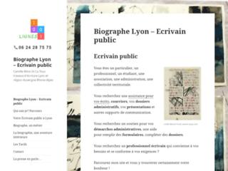 Ecrivain public et biographe sur Lyon et région Auvergne Rhône Alpes