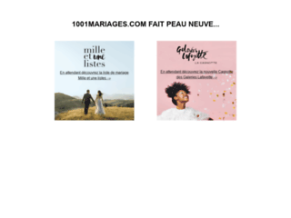 http://www.1001mariages.com/