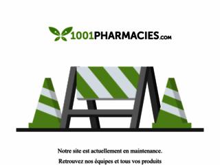 Capture du site http://www.1001pharmacies.com