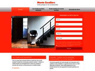 Capture du site http://www.123monte-escalier.com
