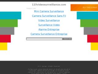 Capture du site http://www.123videosurveillance.com