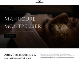 Capture du site http://www.1manucure.com/