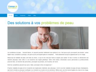 Détails :  Solutions pour vos problèmes de peau